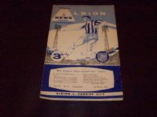 West Bromwich Albion v Cardiff City, 1961/62